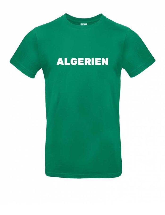 Das Algerien-Shirt für Herren in Grün