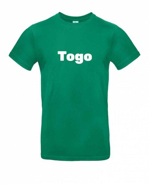 Das Togo-Shirt für Herren in Grün
