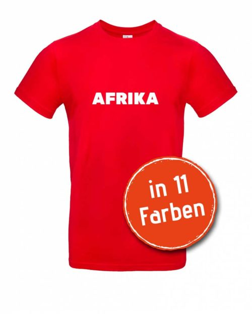 Unser Afrika-Shirt für Herren in 11 verschiedenen Farben