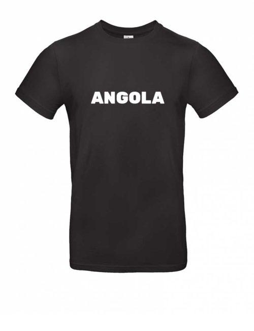 Das Angola-Shirt für Herren in Schwarz