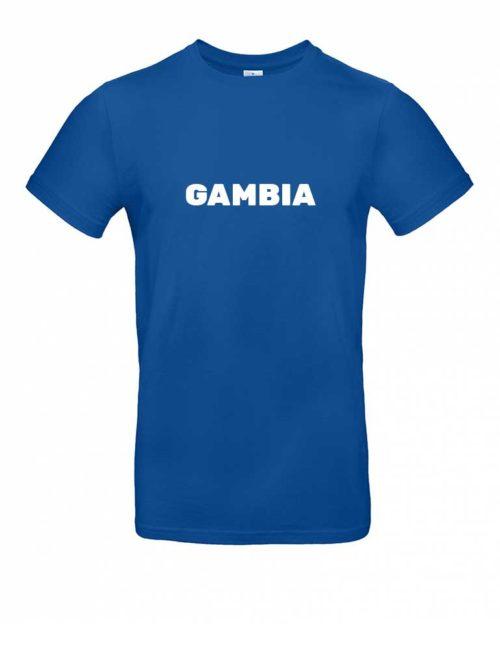 Das Gambia-Shirt für Herren in Blau