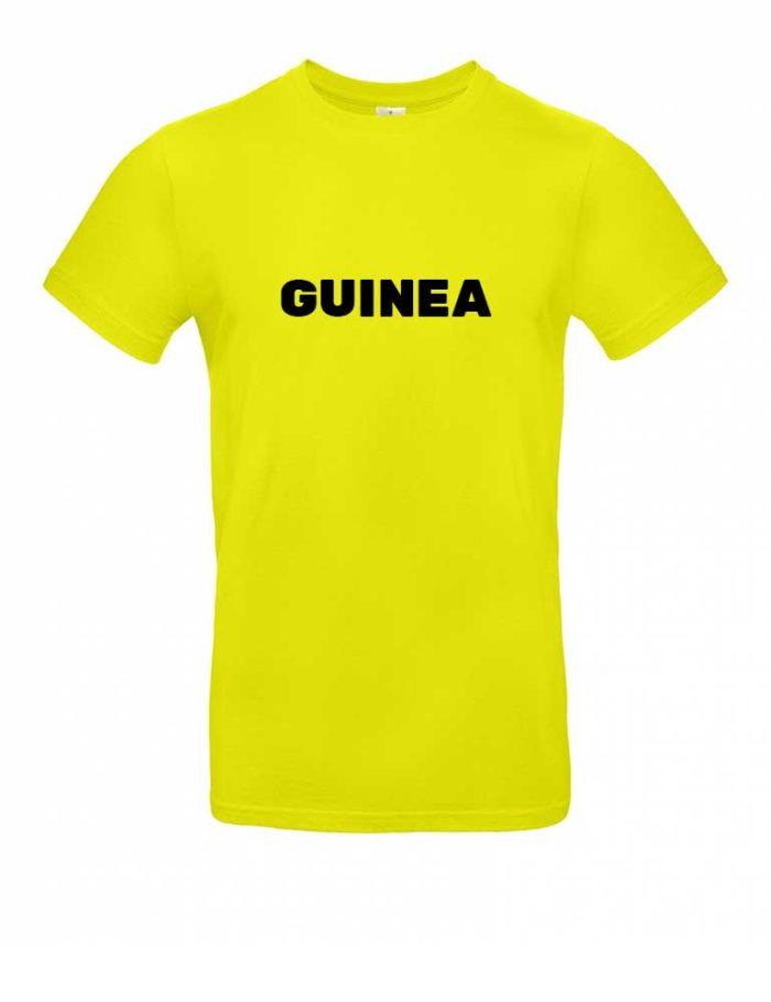 Das Guinea-Shirt für Herren in Gelb