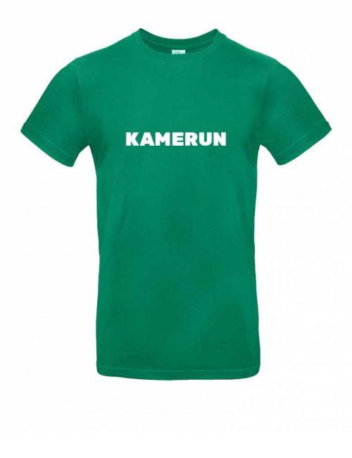 Das Kamerun-Shirt für Herren in Grün