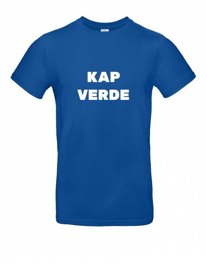 Das Kap Verde-Shirt für Herren in Blau