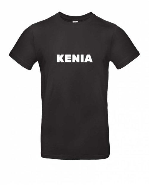 Das Kenia-Shirt für Herren in Schwarz
