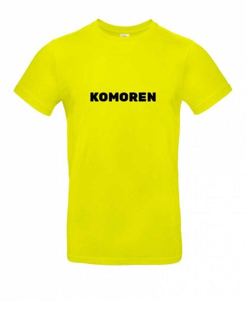 Das Komoren-Shirt für Herren in Gelb