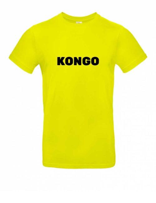 Das Kongo-Shirt für Herren in Gelb