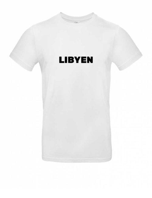 Das Libyen-Shirt für Herren in Weiß