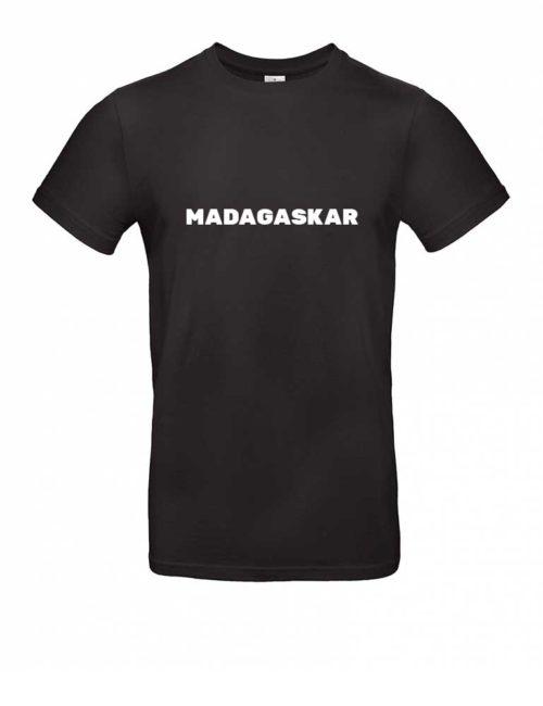 Das Madagaskar-Shirt für Herren in Schwarz