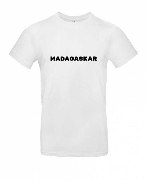 Das Madagaskar-Shirt für Herren in Weiß