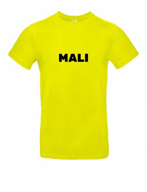 Das Mali-Shirt für Herren in Gelb