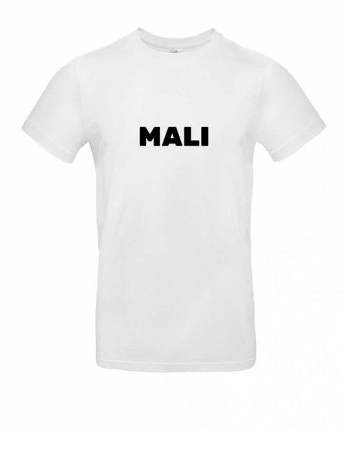 Das Mali-Shirt für Herren in Weiß