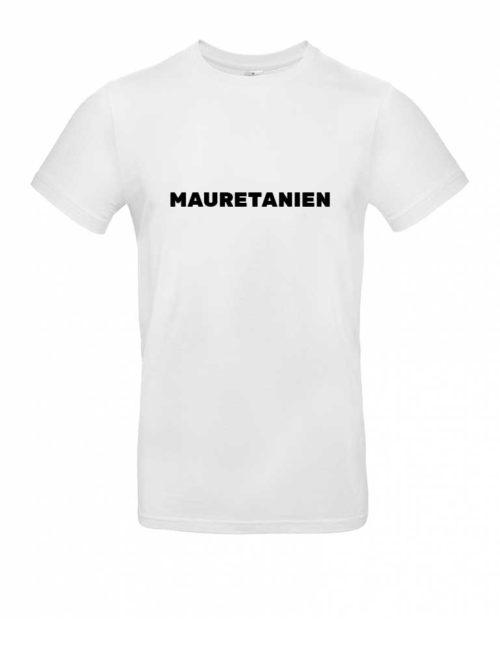 Das Mauretanien-Shirt für Herren in Weiß