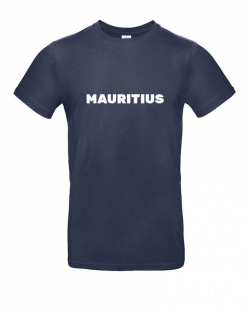 Das Mauritius-Shirt für Herren in Dunkelblau