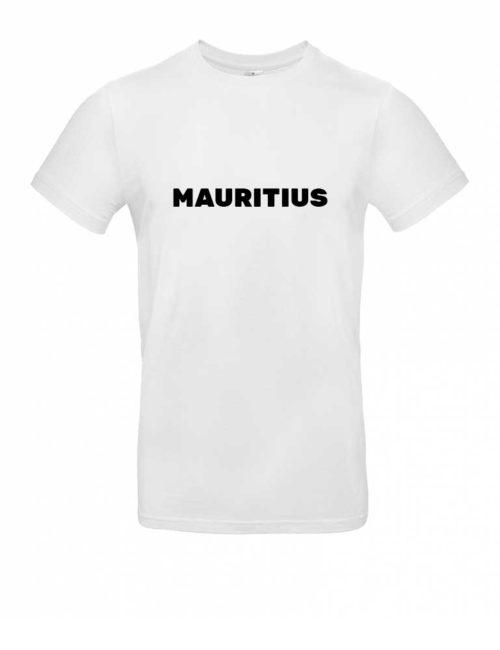Das Mauritius-Shirt für Herren in Weiß