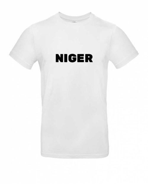 Das Niger-Shirt für Herren in Weiß