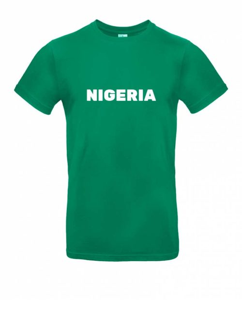 Das Nigeria-Shirt für Herren in Grün