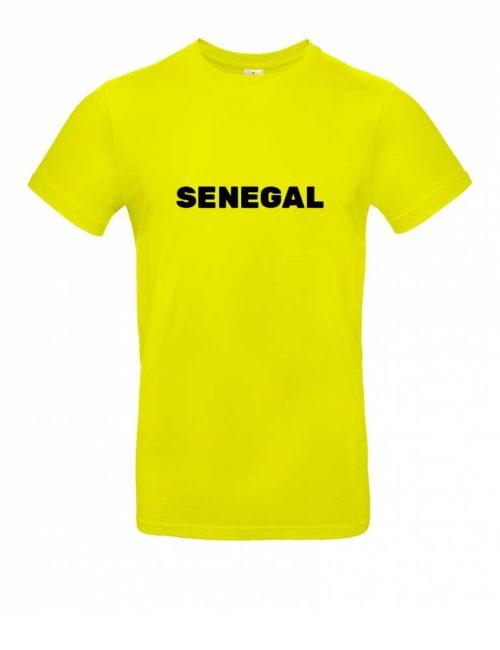 Das Senegal-Shirt für Herren in Gelb