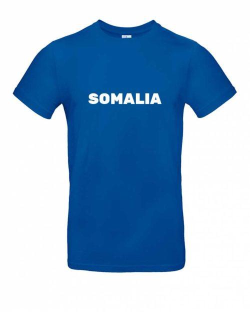 Das Somalia-Shirt für Herren in Blau