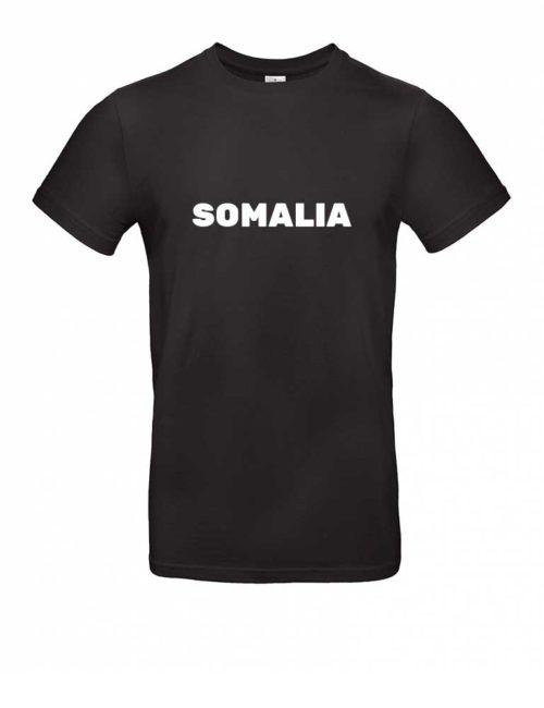 Das Somalia-Shirt für Herren in Schwarz