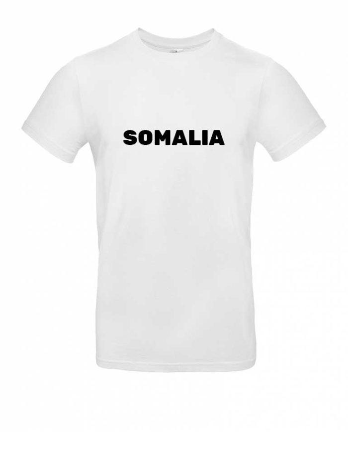 Das Somalia-Shirt für Herren in Weiß