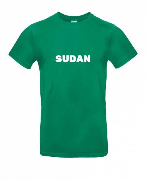 Das Sudan-Shirt für Herren in Grün