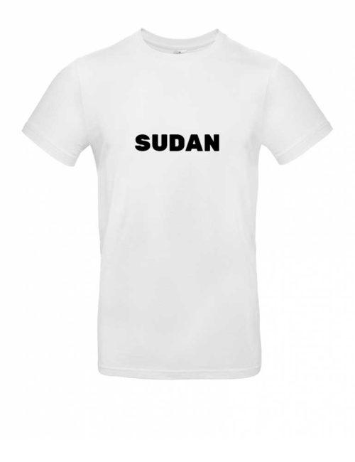 Das Sudan-Shirt für Herren in Weiß