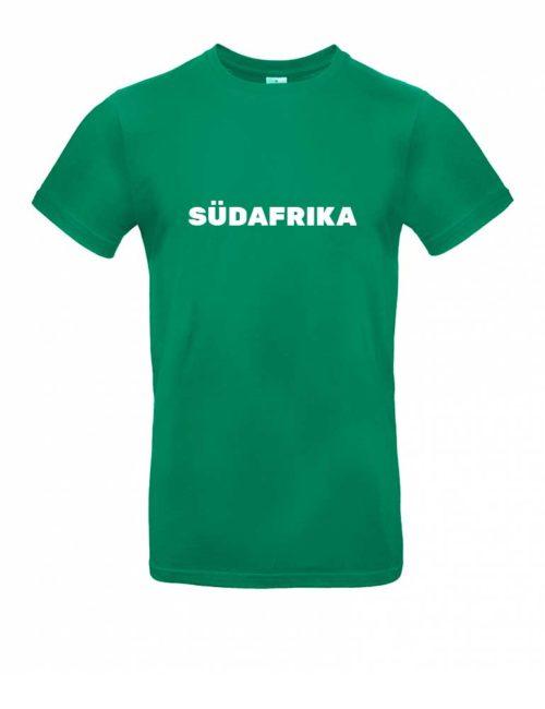 Das Südafrika-Shirt für Herren in Grün