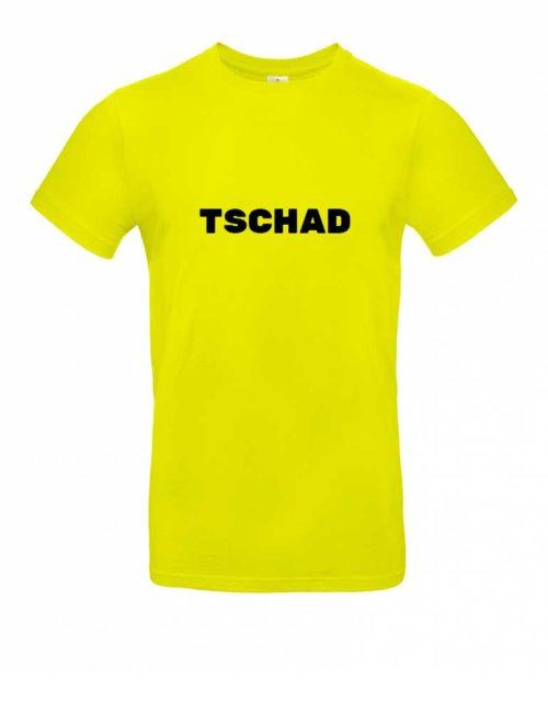 Das Tschad-Shirt für Herren in Gelb