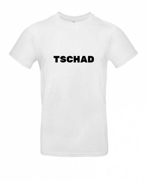 Das Tschad-Shirt für Herren in Weiß