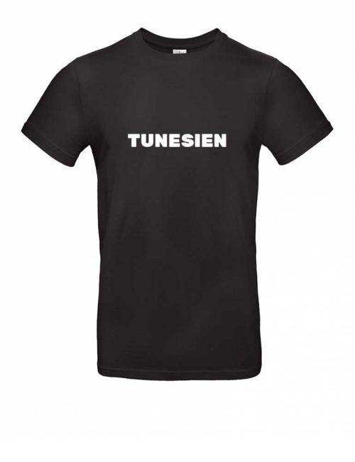 Das Tunesien-Shirt für Herren in Schwarz