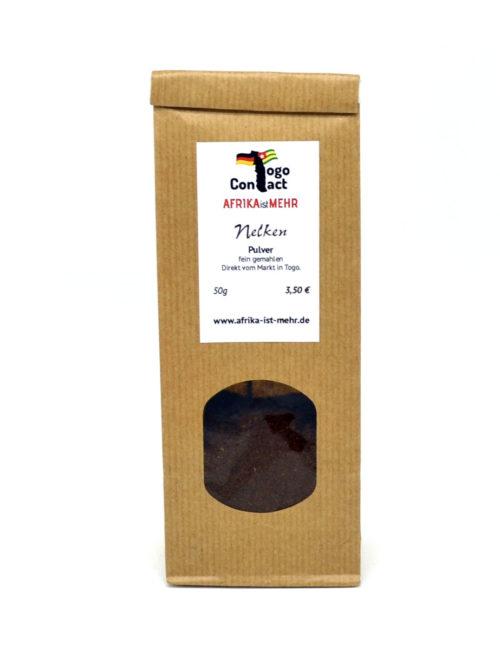 Unser Nelkenpulver stammt direkt aus Togo in Afrika