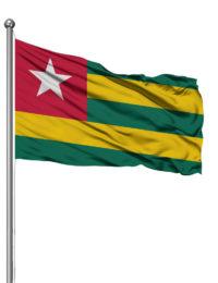 Togo Hissfahne