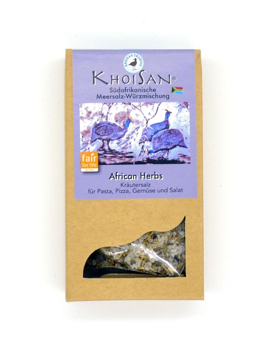 African Herbs Kräutersalz von KhoiSan aus Südafrika