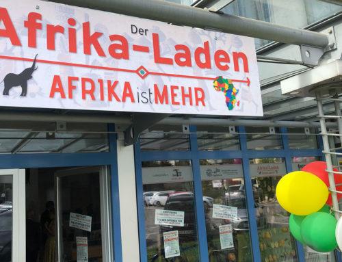 Der Afrika-Laden in FFB ist eröffnet