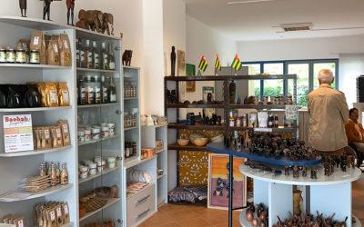 Blick in unseren Afrika-Laden