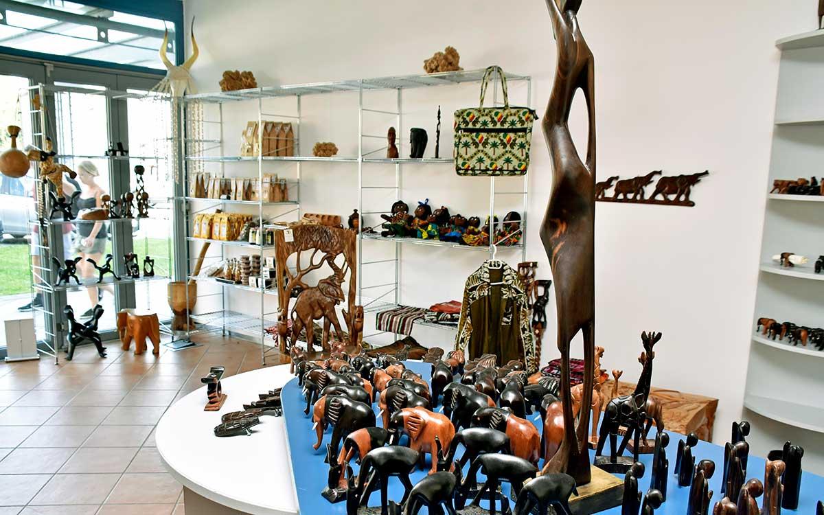 Der Afrika-Laden in Fürstenfeldbruck von innen