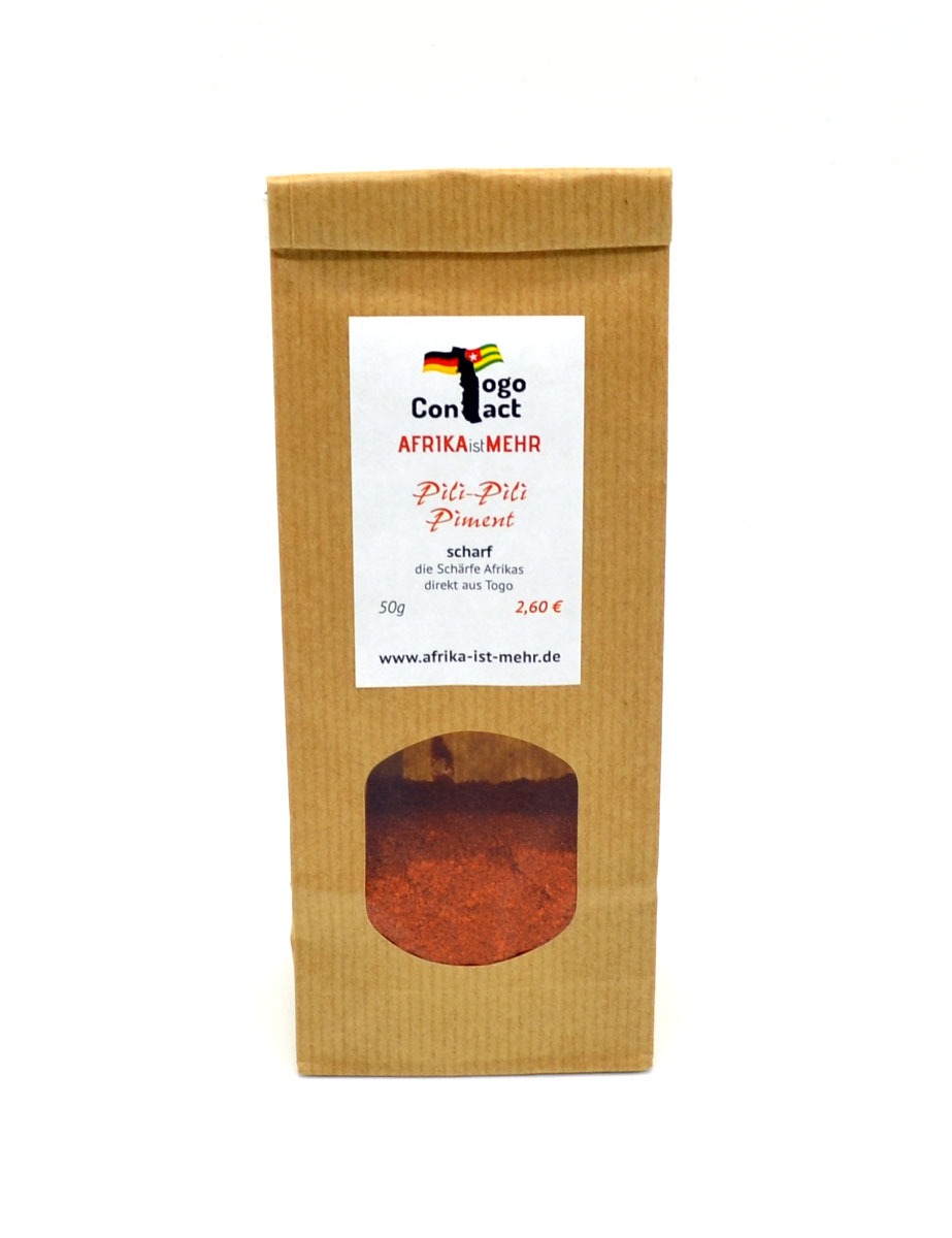Pili-Pili Piment, das scharfe Chili-Pulver aus Afrika