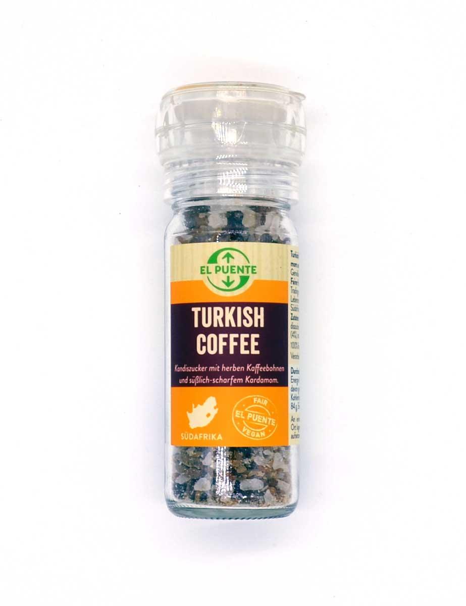 Turkish Coffee Kandiszucker aus Afrika