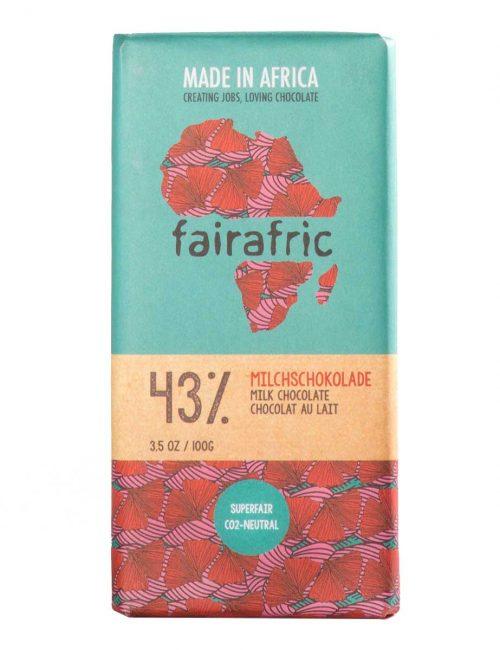 Vollmilchschokolade 43% Kakao von fairafric
