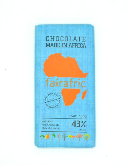 Vollmilchschokolade 43% Kakao - fairafric