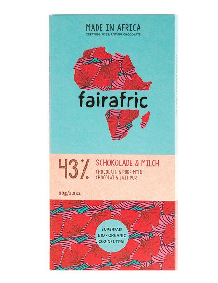 fairafric Schokolade 43% - Milch