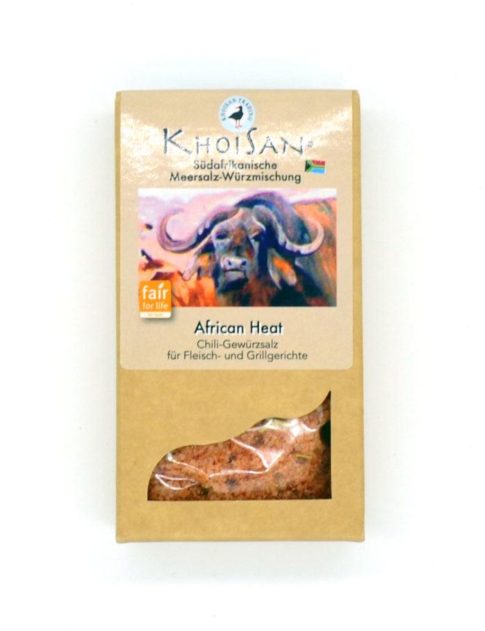 African Heat Chili-Gewürzsalz von KhoiSan aus Südafrika