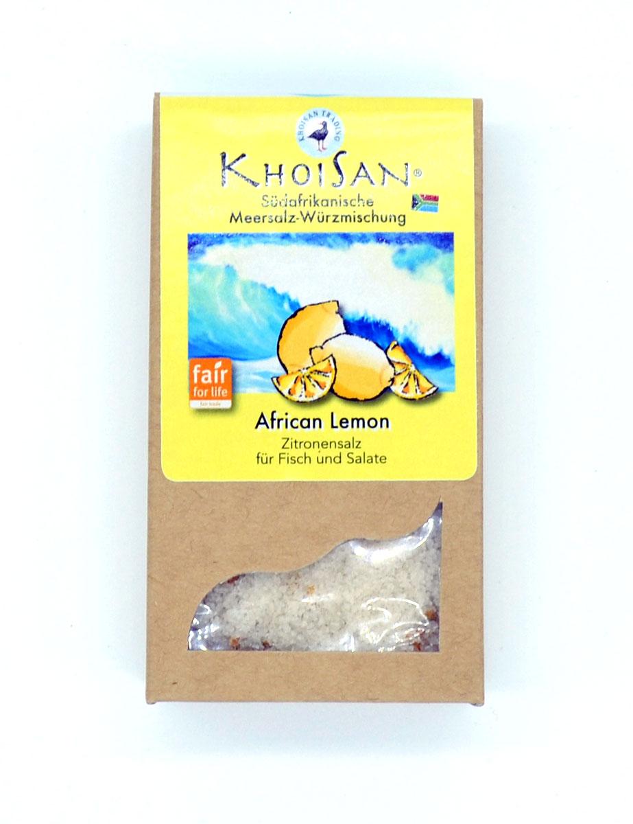 African Lemon Zitronensalz von KhoiSan aus Südafrika