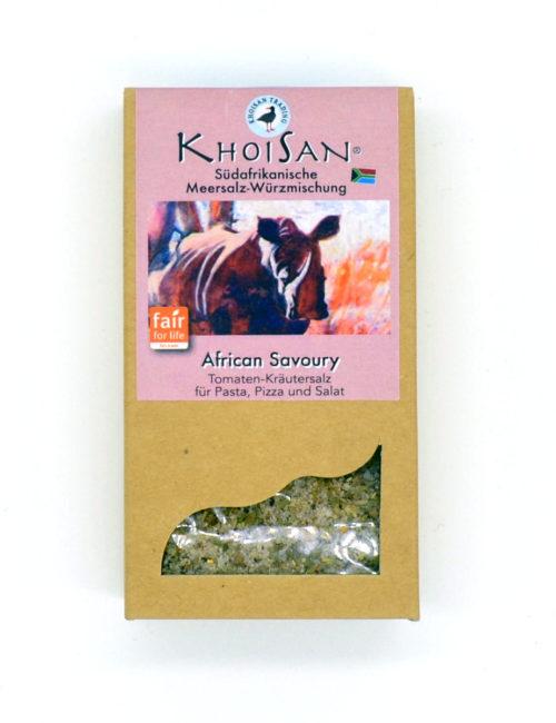 African Savoury Tomaten-Kräutersalz von KhoiSan aus Südafrika