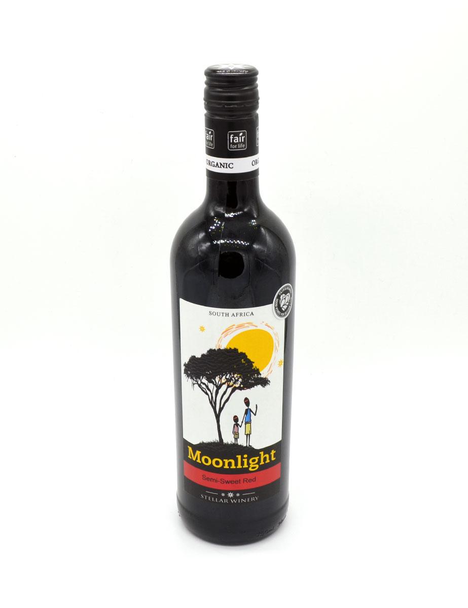 Wein aus Afrika - Rotwein - Semi-Sweet Red - Moonlight