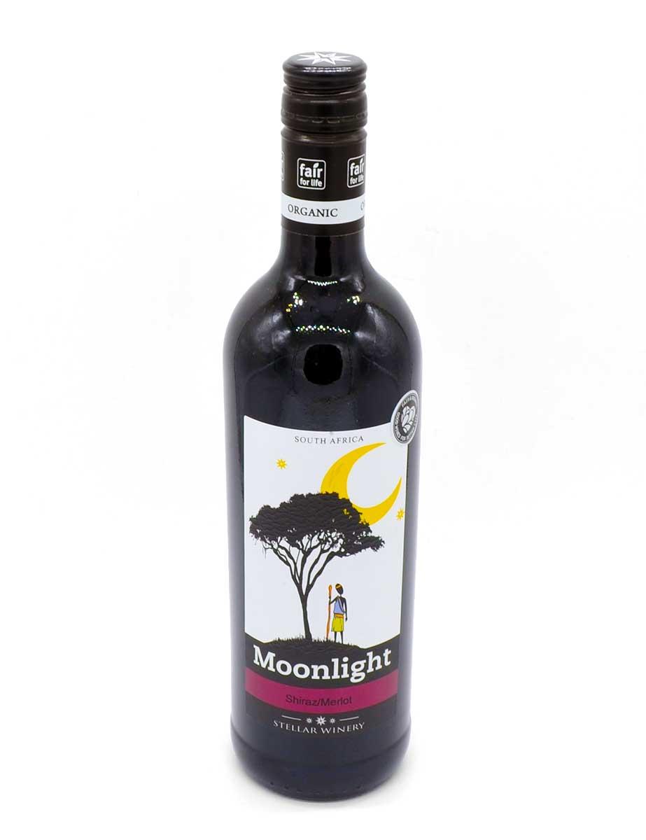 Wein aus Afrika - Rotwein - Shiraz/Merlot - Moonlight
