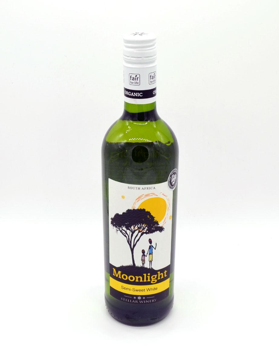 Wein aus Afrika - Weißwein - Semi-Sweet White - Moonlight