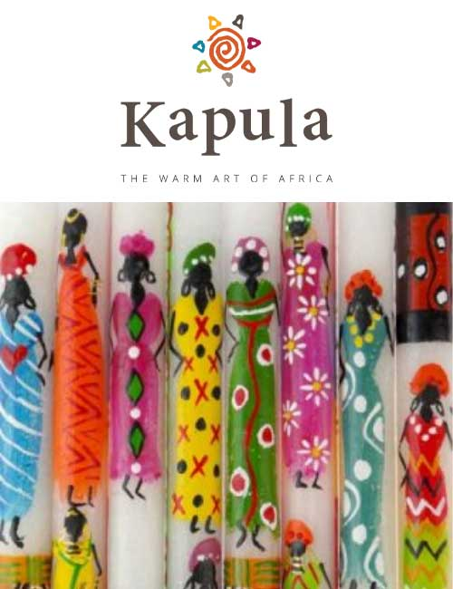 Kapula Stabkerze African Ladies