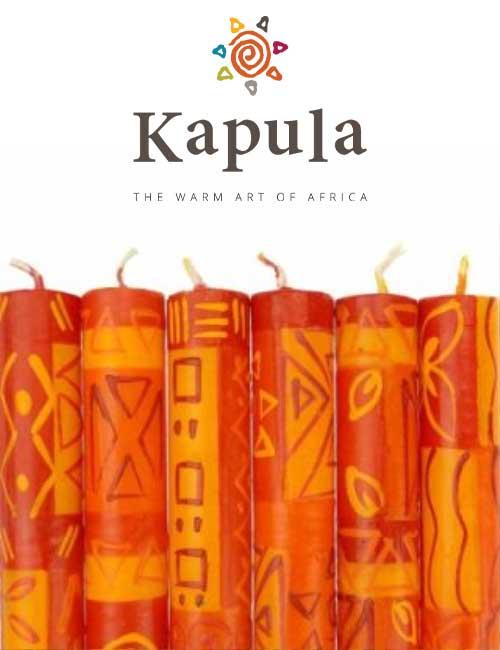 Kapula Stabkerze African Sunset